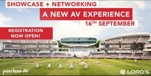 Peerless-AV Event banner