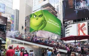 The Grinch Marketing Campaign Ad