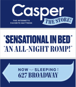An example of a humorous outdoor ad: Casper