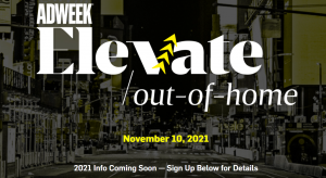 Elevate: Out-of-Home banner