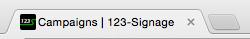 123-Signage Favicon