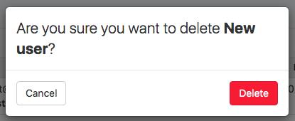 2. confirmation button