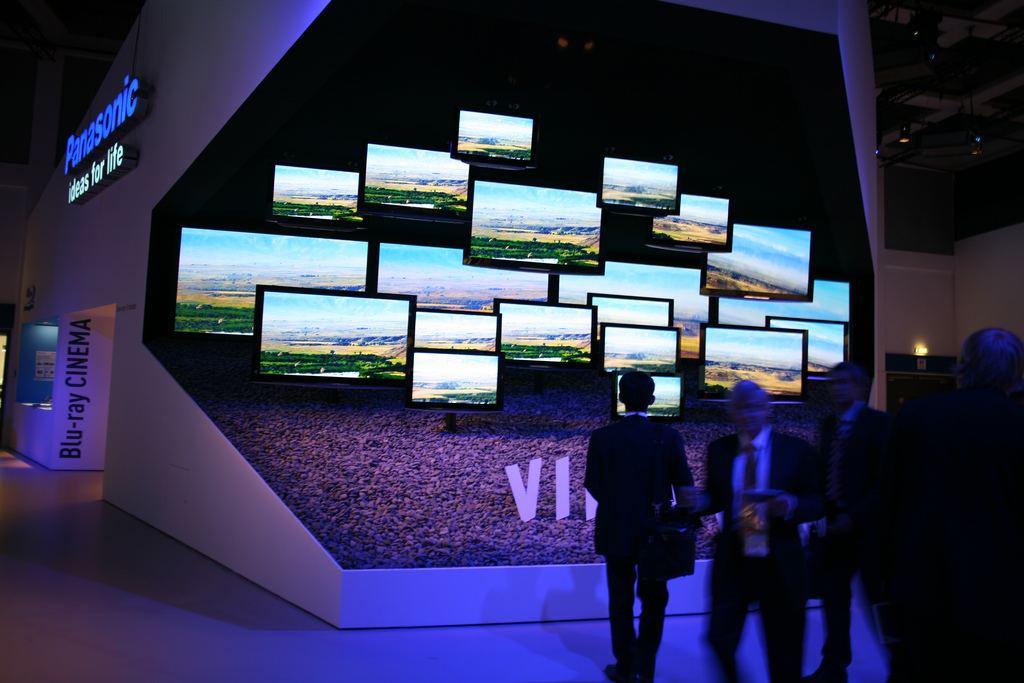 Panasonic video walls