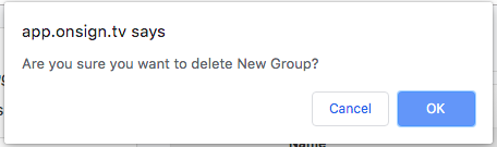 confirm remove group