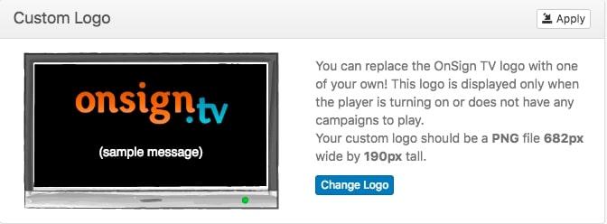 3. custom logo