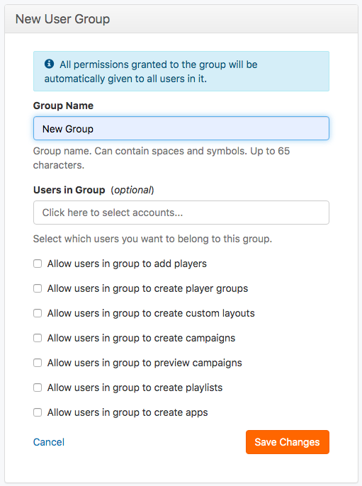 form create group