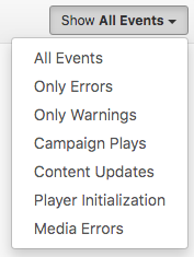 3. filter player events