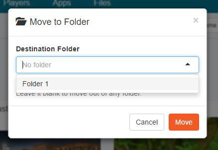 4.1.1 Move to folder