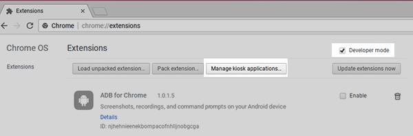 How to Install OnSign TV Kiosk App on Chrome OS - OnSign TV