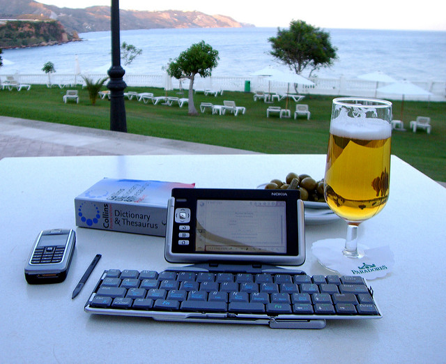 Mobile and beer