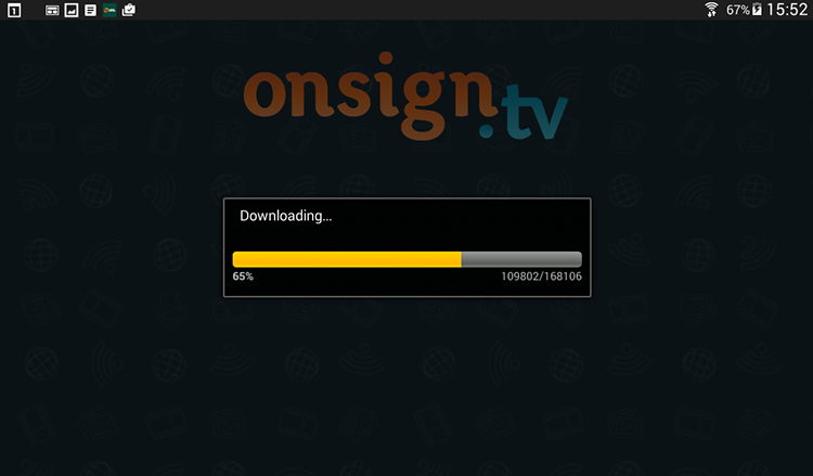 7. downloading campaigns on new device