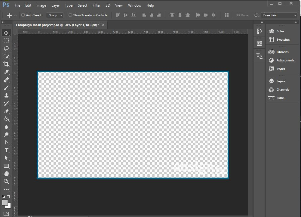 Create mask with png file