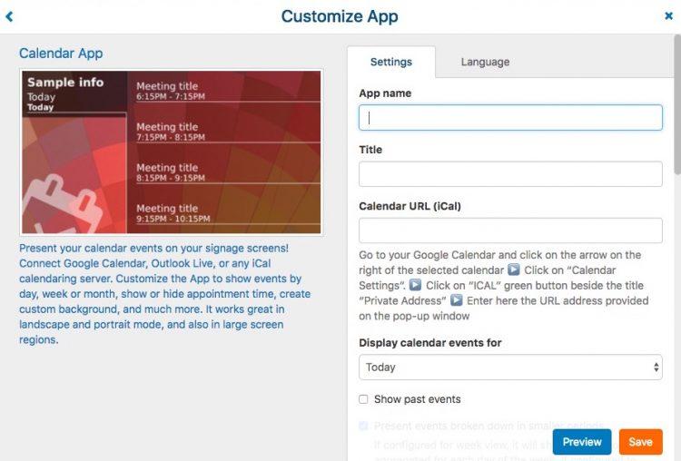 Form Calendar App