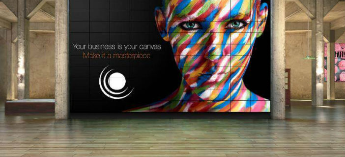 VIdeo walls: your business is your canvas