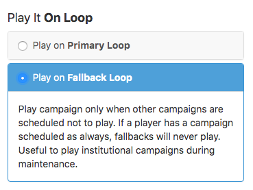 select play fallbackloop