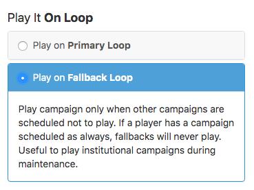select play fallbackloop