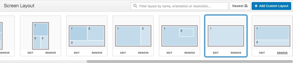 add custom layout