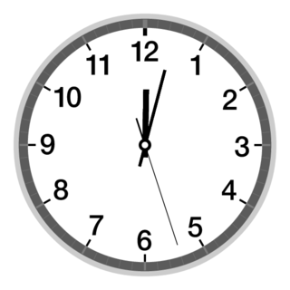 clock apps round layout