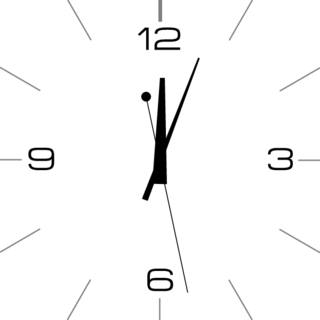 analog layout clock apps