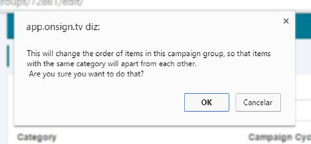 auto-distribute by categories confirmation dialog