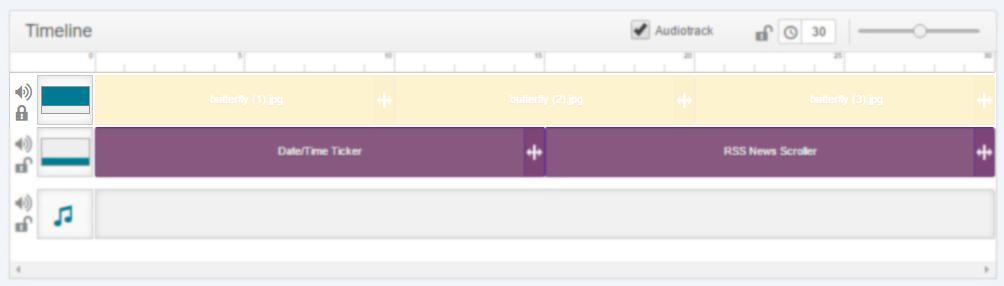block layer on timeline