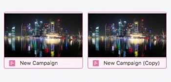 campaign duplicated