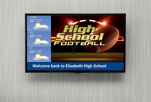 There are plenty of other uses for digital signage on a college campus, at  a high school or university. To read more on this aspect of digital signage,  ...
