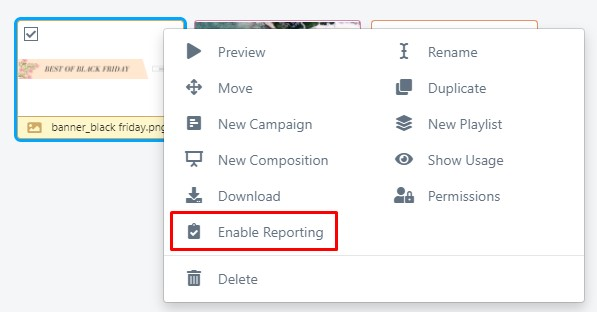 right click on file and hit enable media playback report
