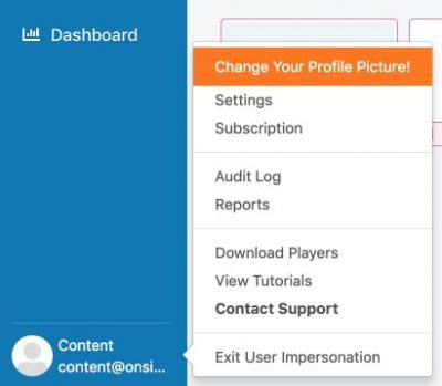 create shared account step 1