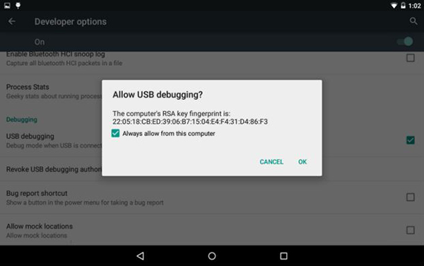 enable adb 6