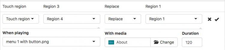 filter to button menu 1