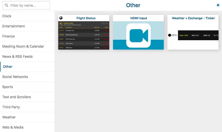 Setup HDMI input app and save
