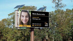 Digital OOH billboards help find missing children