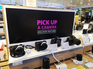 Digital signage in retail: Product information