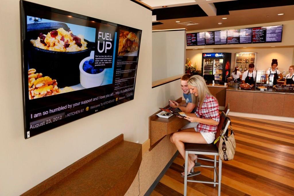Digital Signage for Restaurants - Onsign TV