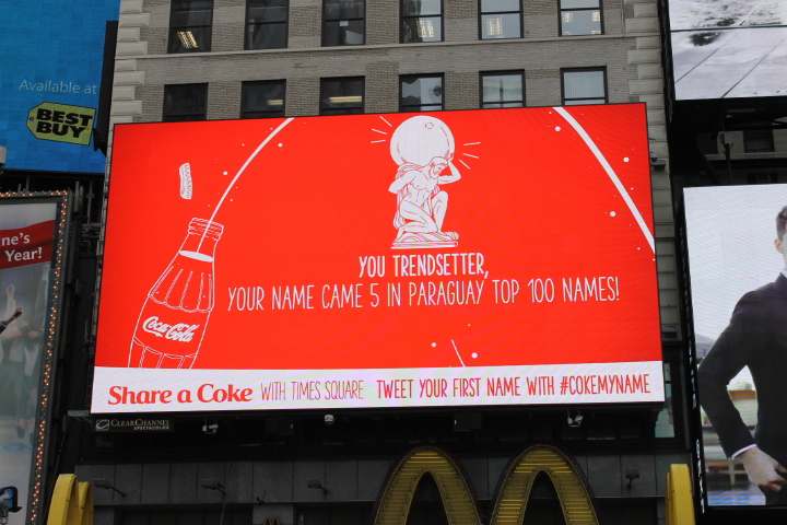 Digital Signage Sign by Coca-Cola