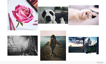 instagram gride social networks