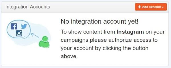 integrate button