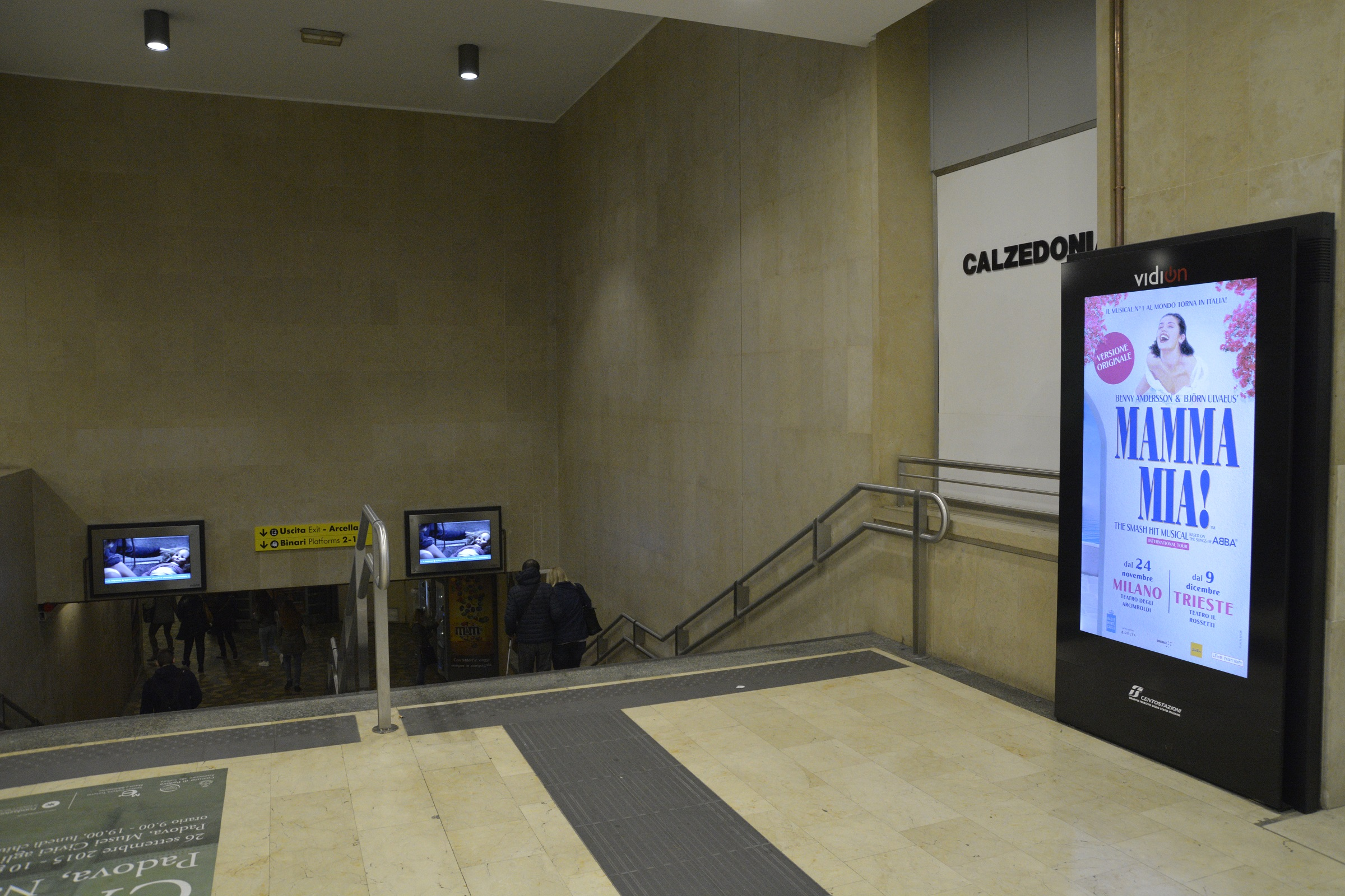 Digital display use in transportation