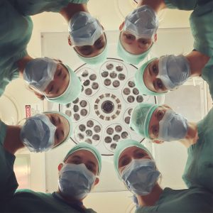 Doctors in the hospital ER