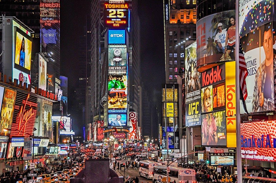 Digital signage news: Times Square Displays