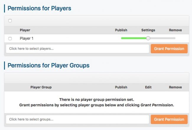 player permissions