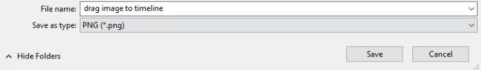 salve arquivo png transparente