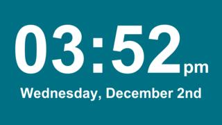 digital style clock apps