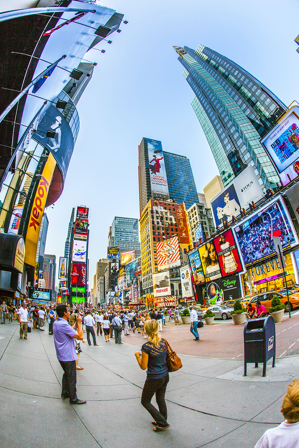 4 things every digital signage network operator should for Things to do around times square