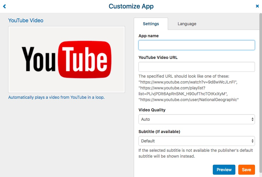 how to add url to youtube video